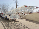 18-20 Car Transporter Frame Type Tri Axle Car Carrier Trailer