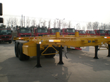 2 Axles 20 Foot Container Chassis Trailer